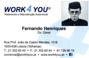 cartao_old Work4you, Lda